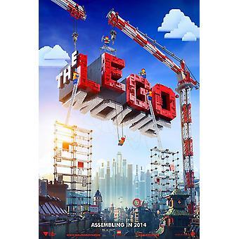 Il poster del film Lego fronte fronte fronte retroscimato (2014) Poster originale del cinema
