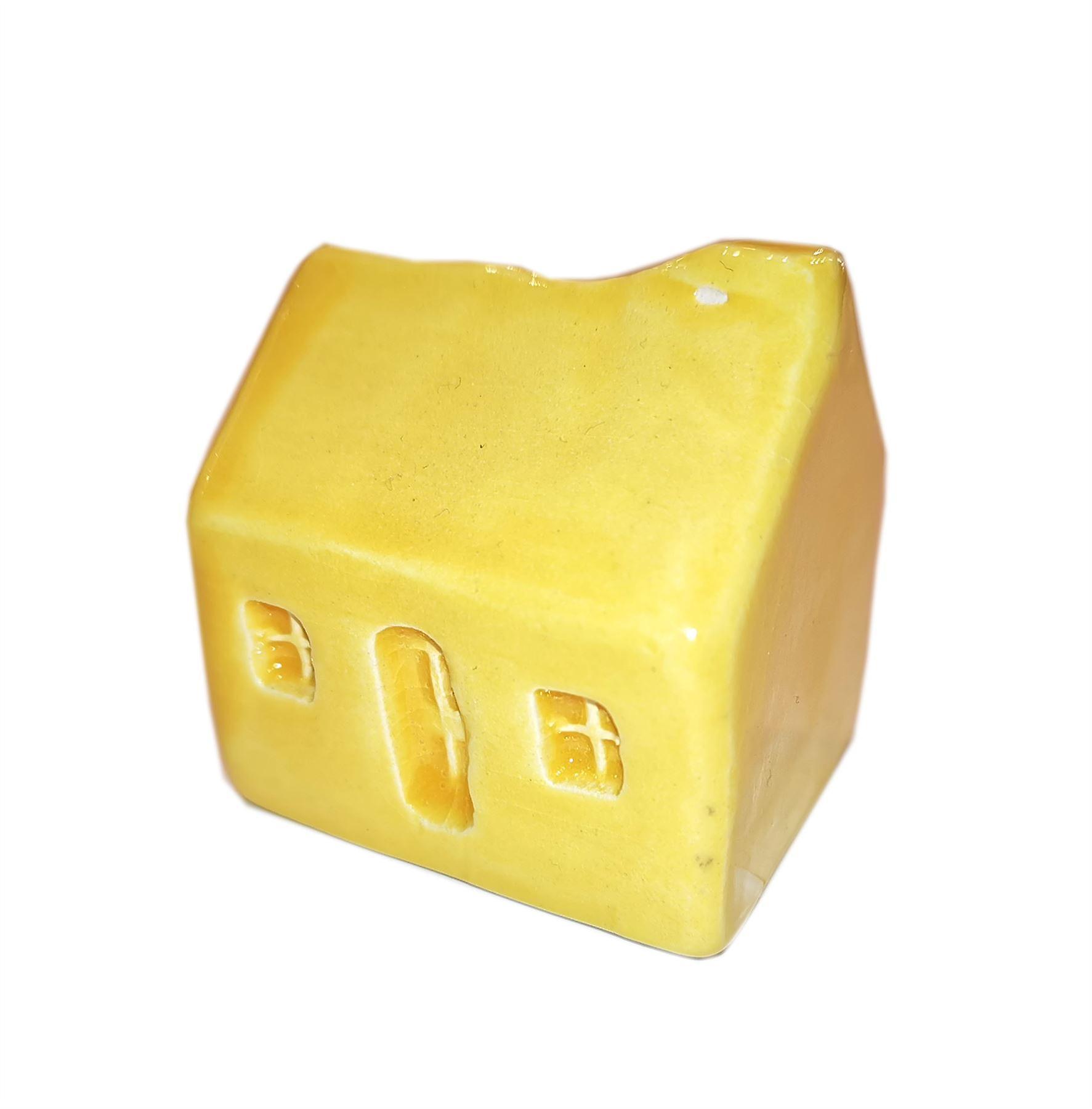 Glenshee Pottery Original Wee Highland Bothy Yellow