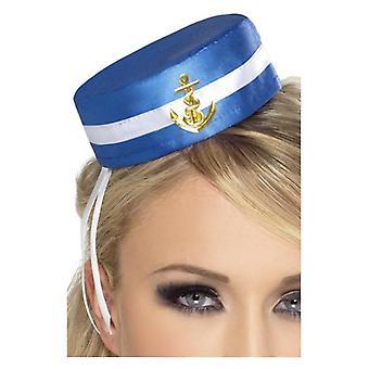 Womens koorts pil vak Sailor Hat Fancy Dress accessoire