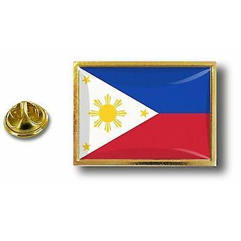 Pins Pin Badge Pin's Metal  Pince Papillon Drapeau Philippines Philippin