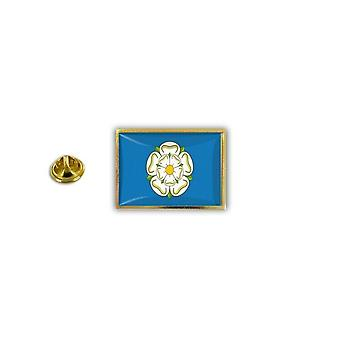 Pins Pin Badge Pin's Metal Broche Drapeau Anglais Royaume Uni Yorkshire