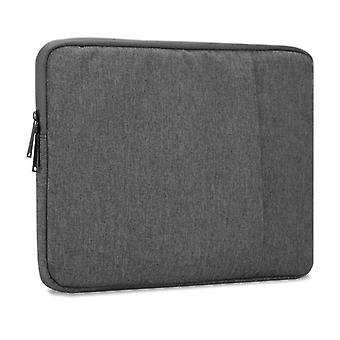 Cadorabo Laptop / Tablet Bag 14'' Inch – Notebook Computer Bag made of fabric with velvet lining and compartment with anti-scratch zipper
