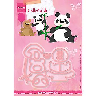 Marianne Design Collectables Cutting Dies – Eline's Panda And Bear