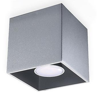 Sollux QUAD 1 Light Surface Mounted Downlight Grey SL.0024