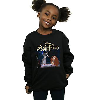 Disney Girls Lady und der Tramp Hommage Sweatshirt