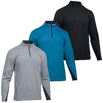 Under Armour Mens UA Storm 1/4 Zip Performance Golf Sweater Pullover