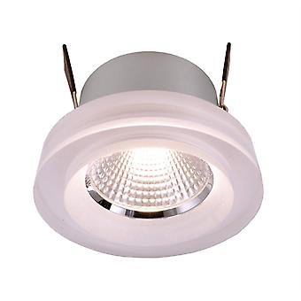 LED recessed ceiling lamp COB 68 acrylic 2400-6500 K 8 W D 78mm plastic dimmable IP20