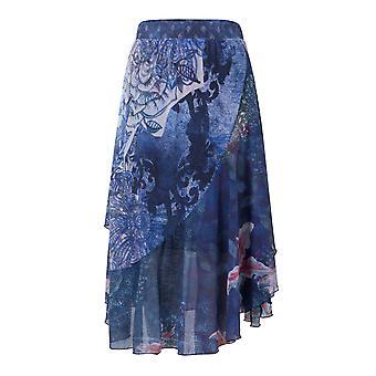 Desigual Women's Nala Floaty Stretchy Floral Skirt