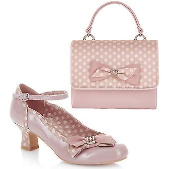 روبي شو المرأة & s كورديليا المحكمة مضخات الأحذية ومطابقة حقيبة مالي