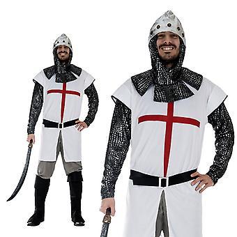 Knight Crusader Templars medieval costume men