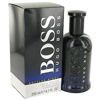 Boss engarrafado noite eau de toilette spray por hugo chefe 500449 200 ml