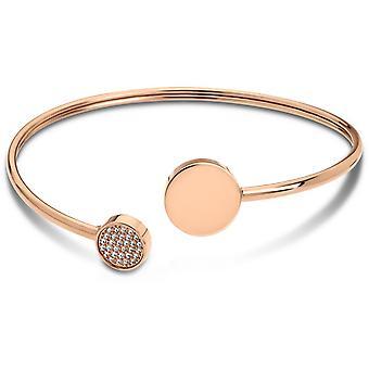 Bracelet Woman Basic LS1819-2-2 - rigid Steel Bracelet Rose Gold woman