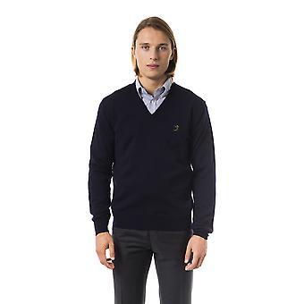 Pullover Blue Uominitaliani man