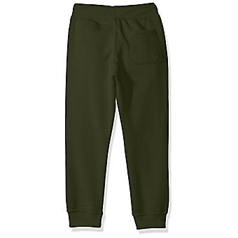 Southpole Little Boys-apos; Active Basic Jogger Fleece Pantalon, Olive, Moyen