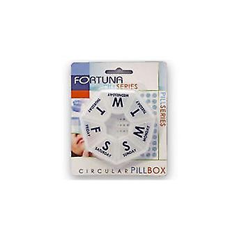 Fortuna Pill Series Circular Pill Box