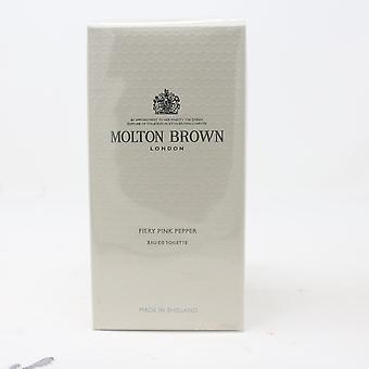 Vurige Roze Peper van Molton Brown Eau De Toilette 3.4oz/100ml Spray Nieuw met doos