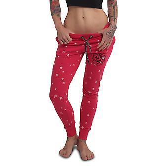YAKUZA Women's Jogging Pants Skull N Stars Skinny