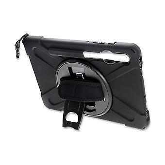 4smarts robust tablett tilfelle grep for Samsung Galaxy Tab S6 svart sak tilfelle