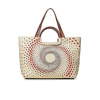 Desigual White Woman handbag (White (BLANCO 1000)) 17x30.5x37 cm (B x H x T)