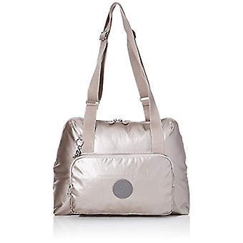 Kipling LENEXA Bag Messenger 44 cm 24 liters Silver (Metallic Glow B)