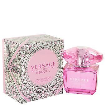 Ljusa Crystal Absolu av Versace Eau De Parfum Spray 3 oz/90 ml (kvinnor)