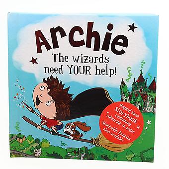 History & Heraldry Magical Name Storybook - Archie