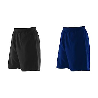 Finden & Hales Childrens/Kids Plain Microfibre Sport Shorts