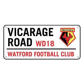 Watford FC Vicarage Road Street Sign