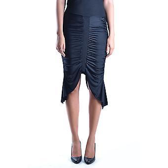 Iceberg Ezbc188009 Women's Black Viscose Skirt