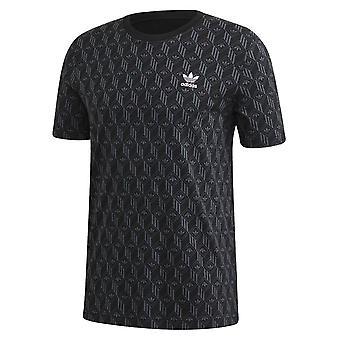 Adidas Mono Aop Tee FM3423 universal all year men t-shirt