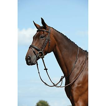 Collegiate Syntovia+ Plain Flat Running Martingale - Bruin