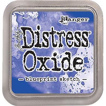 Tim Holtz Distress Oxider Blæk Pad - Blueprint Sketch