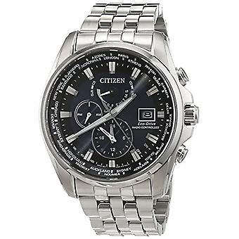 Citizen Herren Quarz Edelstahl Handgelenk Uhr-AT9030 - 55L