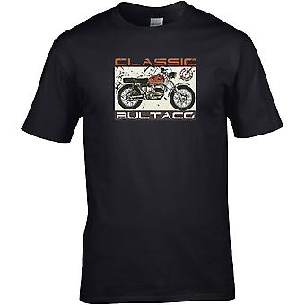 Klassisk Bultaco - Motorsykkel Motorsykkel Biker - DTG Trykt T-skjorte
