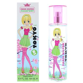 Paris Hilton Passport Tokyo Eau de Toilette Spray 100ml