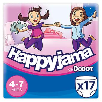 Dodot Happyjama Size 4-7 Girl 17 Units (Baby & Toddler , Diapering , Diapers)