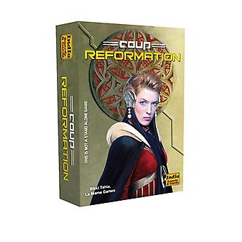 Coup Reformation 2nd Edition Expansion Card Game