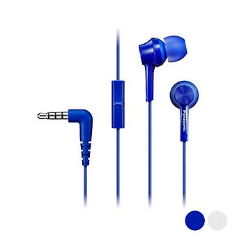 Headphones with Microphone In-ear Panasonic Corp. TCM115E/Blue