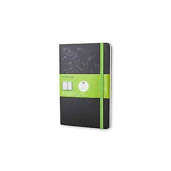 Moleskine evernote notebook large color black