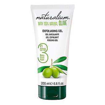 Facial Exfoliator Olive Naturalium (200 ml)