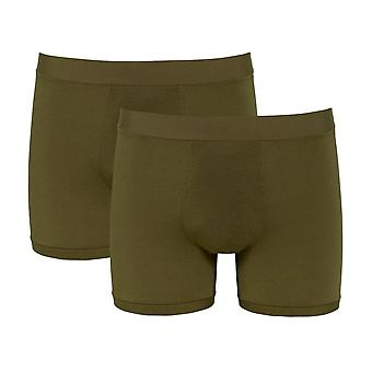 Sloggi Men GO Allround Short 2 Pack - Havanna
