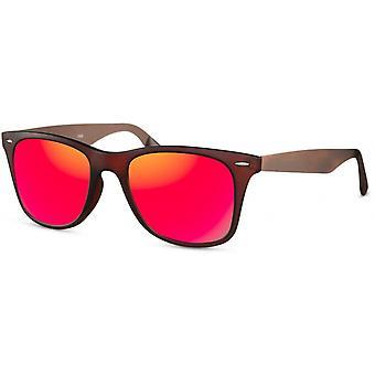 Okulary przeciwsłoneczne Męski Traveler matowy brązowy/czerwony (CWI1908)