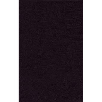 NRSV - Thinline Bible - Bonded Leather - Black - Comfort Print by Zon