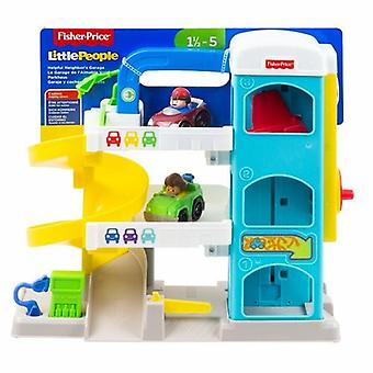 Fisher-Pris Little People Wheelies Garage Playset
