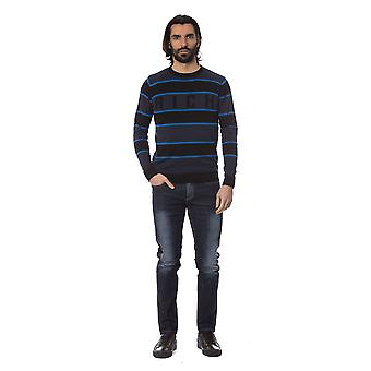 Rich John Richmond Bluec Sweater -- RI81693936