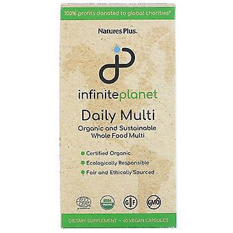 Nature's Plus Infinite Planet Daily Multi Caps 60 (3005)