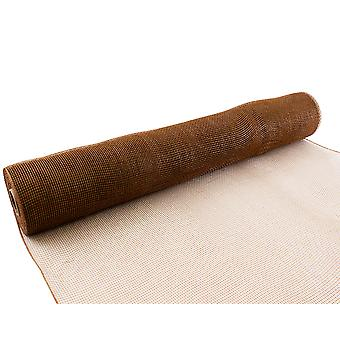 Tan 53cm x 9.1m Deco Mesh Roll for Wreath Making, Floristry & Crafts