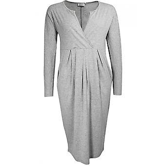 Masai Clothing Nanu Grey Marl Jersey Dress