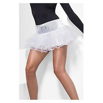 Womens Petticoat wit Fancy Dress accessoire
