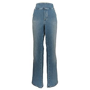 Belle by Kim Gravel Women's Plus Jeans Boot-Cut Blue A311353